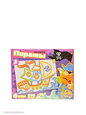 Мозаика Пираты Десятое королевство. Цвет: розовый, фиолетовый