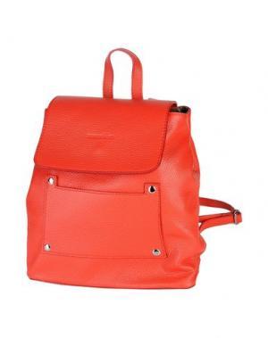 Рюкзаки и сумки на пояс MANOUKIAN. Цвет: красный