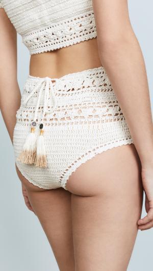Rose Crochet Bikini Bottoms She Made Me