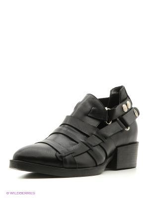 Туфли Pixy. Цвет: черный