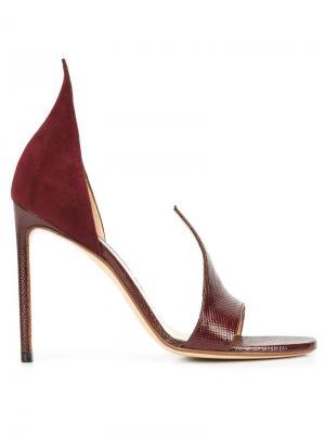 Flame sandals Francesco Russo. Цвет: красный