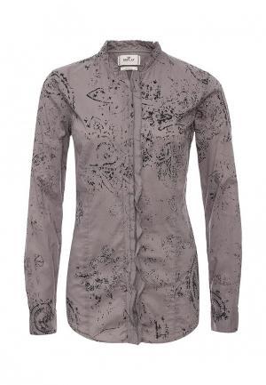 Блуза Replay. Цвет: серый
