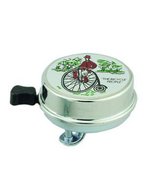 Звонок велосипедный Odinn. Цвет: серый