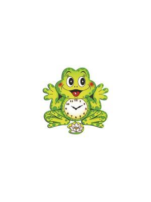 Часы настенные Михаилъ Москвинъ. Цвет: зеленый