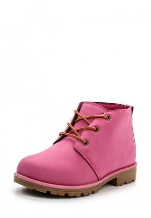 Ботинки Leerd. Цвет: розовый