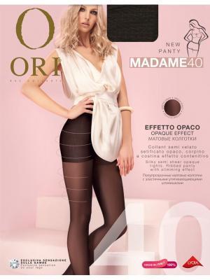 Колготки ORI Madame 40 den. Цвет: темно-коричневый