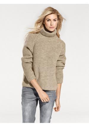Пуловер B.C. BEST CONNECTIONS. Цвет: серо-коричневый