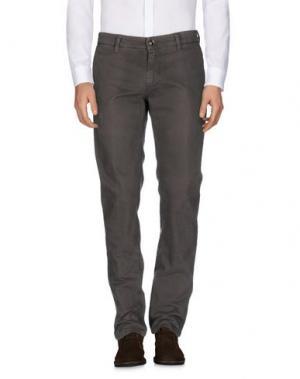 Повседневные брюки RE-HASH. Цвет: хаки