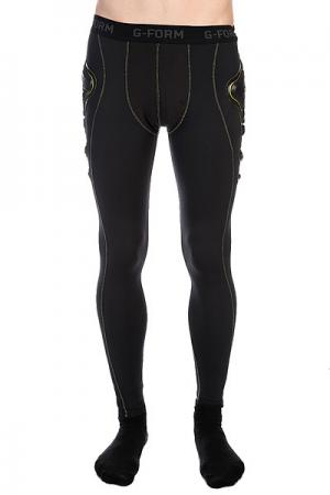 Защита на бедра  Pro-G Pants Black/Yellow G-Form. Цвет: черный
