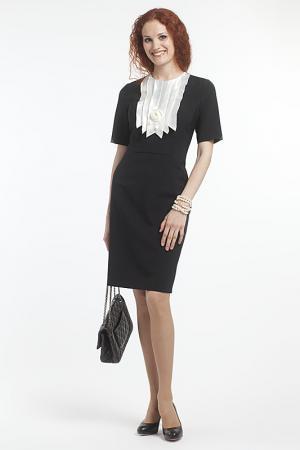 Платье Classic Style. Цвет: черный с белым