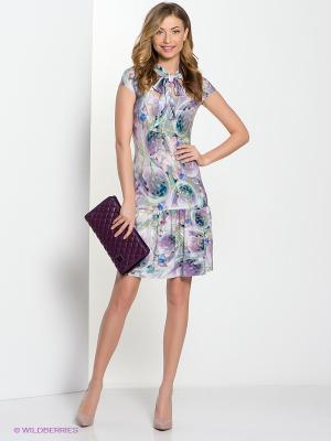 Платье Hammond. Цвет: сиреневый, морская волна, бирюзовый