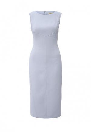Платье Devore. Цвет: голубой