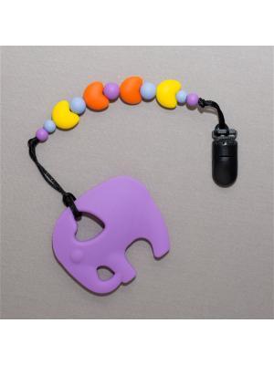 Игрушка-подвеска Краски лета. Цвет: серо-голубой, фиолетовый, оранжевый, желтый