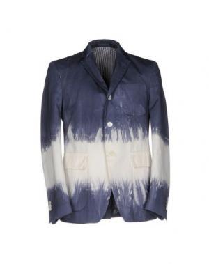 Пиджак WOOSTER + LARDINI. Цвет: синий