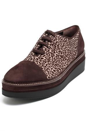 Ботинки Guido Scariglia. Цвет: коричнево-бежевый