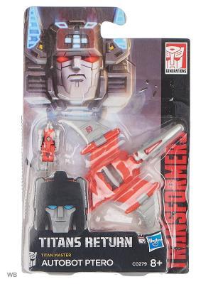 Дженерэйшнс Войны Титанов: Мастера Титанов Transformers. Цвет: красный, серый