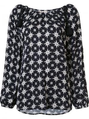 Блузка Marlie Figue. Цвет: чёрный