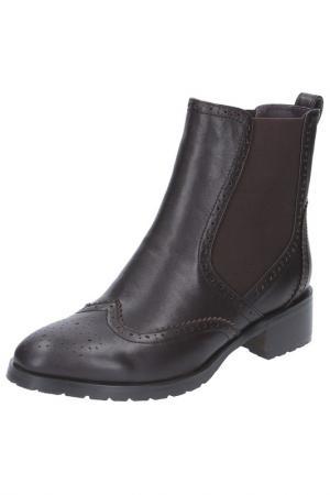 Ботинки BALEX GRAND. Цвет: темно-фиолетовый,коричневый