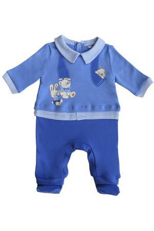 Комбинезон SONI KIDS. Цвет: синий, голубой
