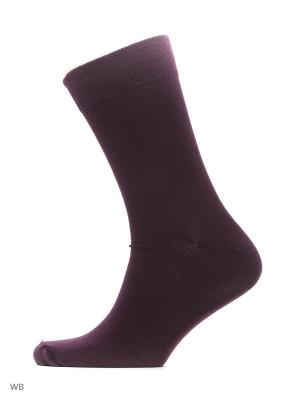 Носки хипстерские (2 пары) HOSIERY. Цвет: сиреневый, бордовый