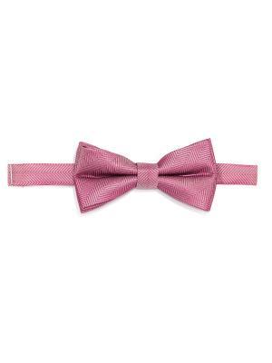 Бабочка Troy collezione. Цвет: розовый