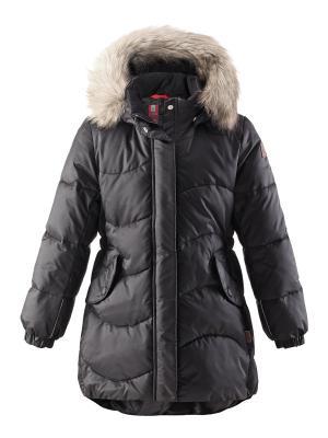 Пальто Reima. Цвет: черный