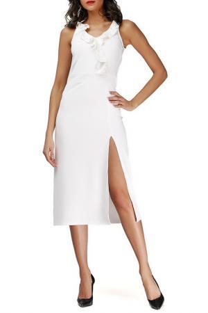 Платье Adelin Fostayn. Цвет: бежевый