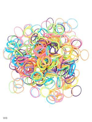 Набор для плетения Loom Bands. Цвет: бирюзовый, светло-зеленый, бежевый