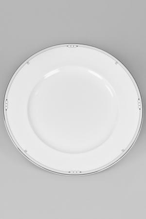 Тарелка Nikko. Цвет: белый