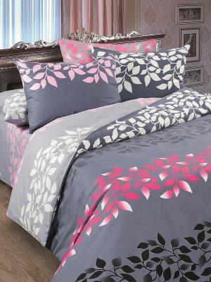 Комплект постельного белья Армани Магия Ночи. Цвет: серый