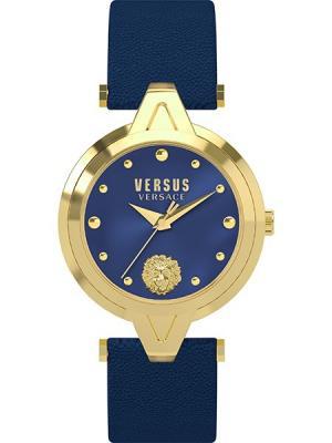 Часы VERSUS VERSACE. Цвет: синий