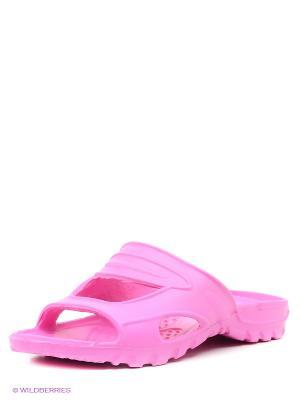 Шлепанцы Дюна. Цвет: розовый, бежевый