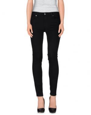 Джинсовые брюки GENETIC DENIM. Цвет: черный