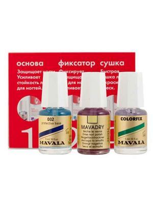 Набор Комплекс 3 Mavala. Цвет: прозрачный