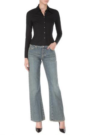 Расклешённые брюки с застежкой на болты John Richmond. Цвет: 0556, синий