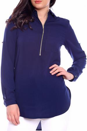 Блуза Moda di Chiara. Цвет: синий