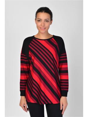 Туника Maria Velada. Цвет: черный, красный