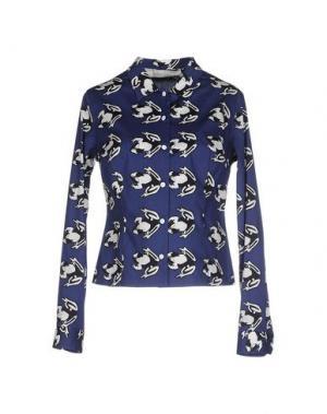 Pубашка AQUILANO-RIMONDI. Цвет: синий