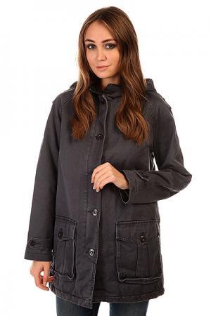 Куртка женская  Hot Fuzz Jacket Midnight Insight. Цвет: синий