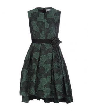 Короткое платье DICE KAYEK. Цвет: зеленый