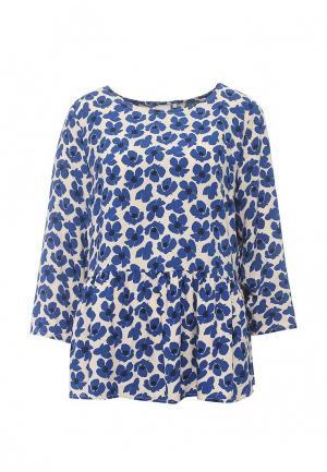 Блуза Ichi. Цвет: синий