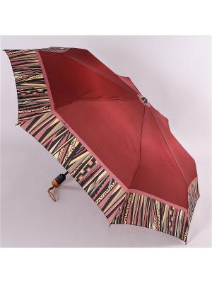 Зонт Airton. Цвет: бордовый, хаки