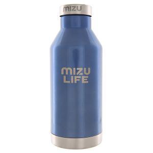 Бутылка для воды  V6 Life Blue Steel Le Sst Cap Mizu. Цвет: синий
