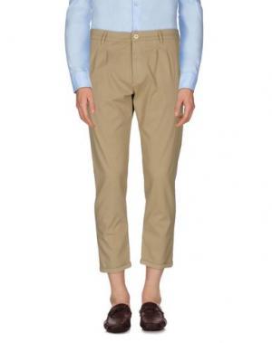 Повседневные брюки (+) PEOPLE. Цвет: песочный