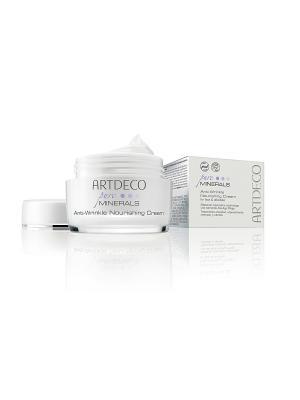 Питательный крем против морщин Anti-Wrincle Nourishing Cream, 50мл ARTDECO. Цвет: белый
