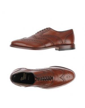 Обувь на шнурках ALLEN EDMONDS. Цвет: какао