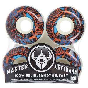 Колеса для скейтборда  Trippy Wheel Red/Blue 99A 52 mm Darkstar. Цвет: белый,синий,оранжевый