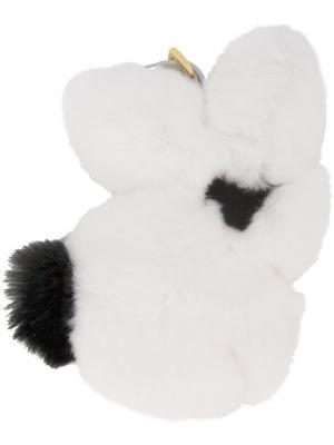 Брелок Rabbit Prada. Цвет: белый