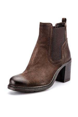 Ботинки Fabrica Morichetti. Цвет: коричневый
