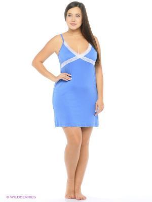 Ночная сорочка Pastilla. Цвет: синий